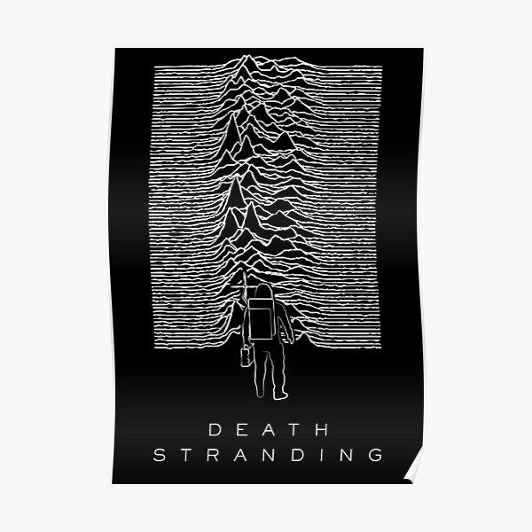 Death Stranding X Joy Division Poster