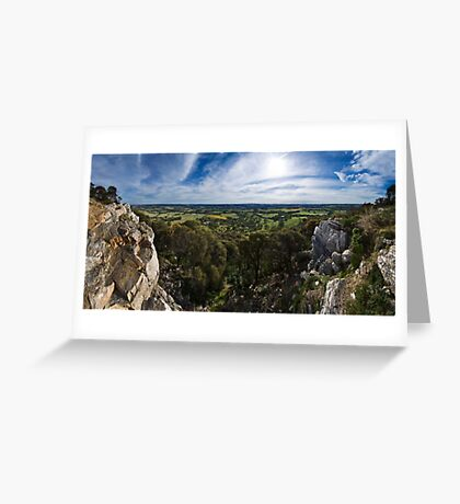Mount Barker Summit Greeting Card