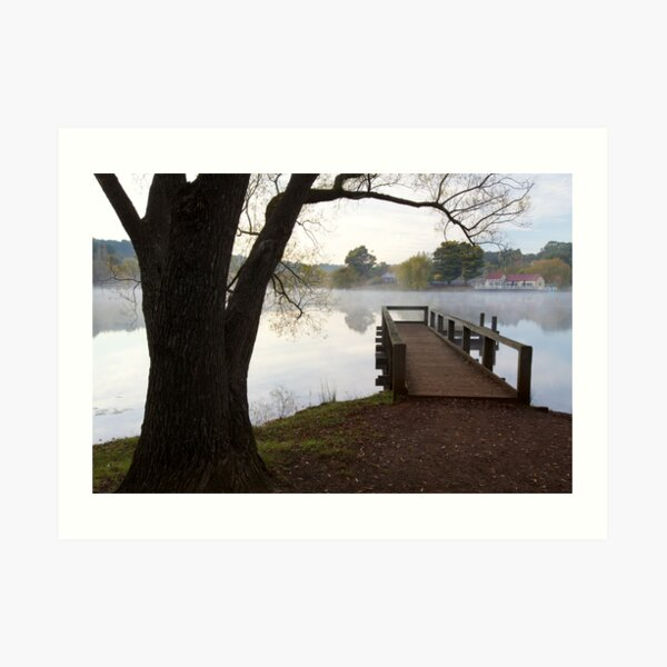 A Jetty with a View Art Print