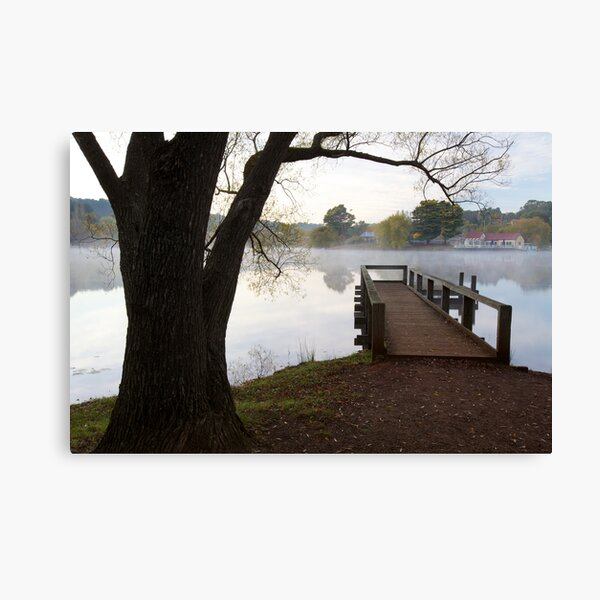 A Jetty with a View Canvas Print