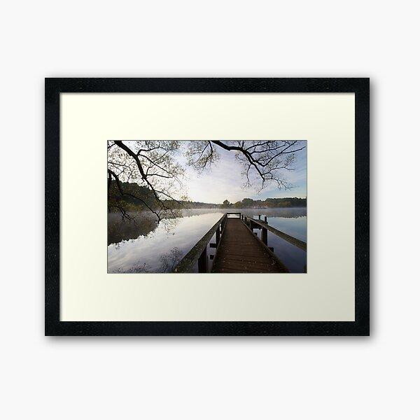 Lake Daylesford  Framed Art Print