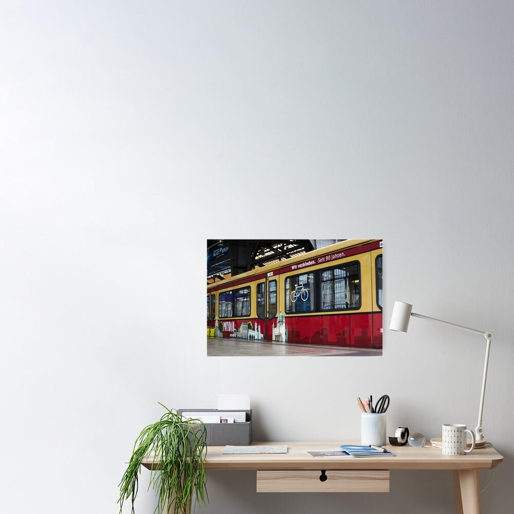 Berlin S-Bahn Ride ECO Poster
