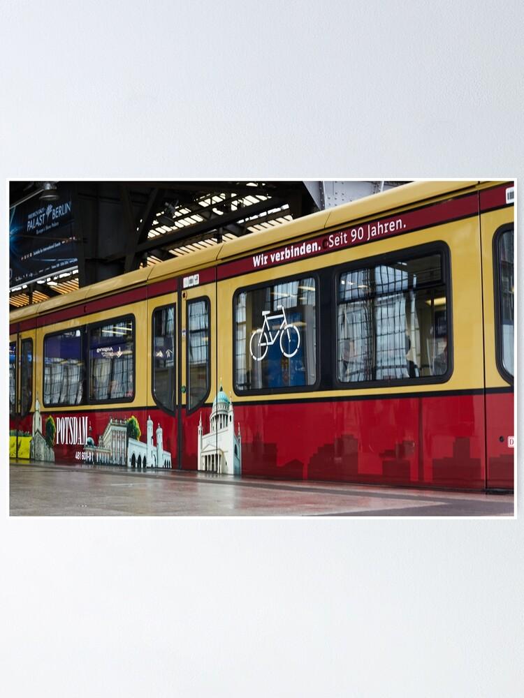 Alternate view of Berlin S-Bahn Ride ECO Poster