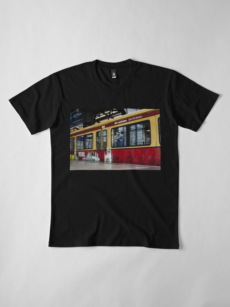 Alternate view of Berlin S-Bahn Ride ECO Premium T-Shirt