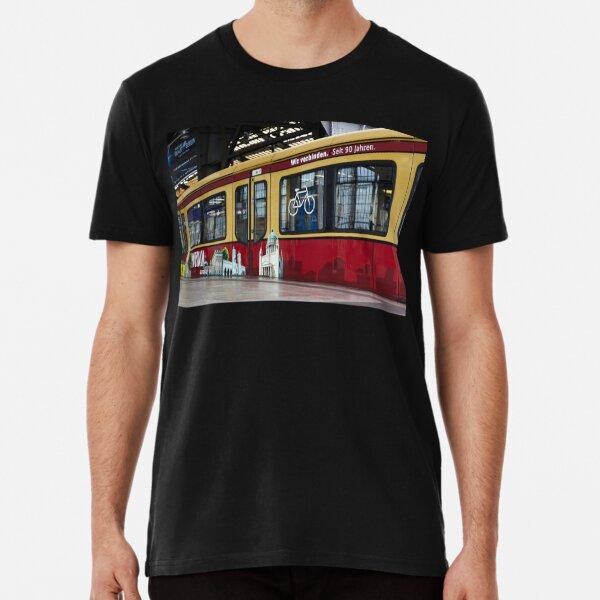 Berlin S-Bahn Fahrt ECO Premium T-Shirt
