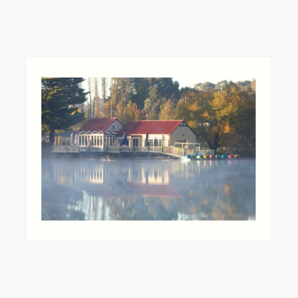 Victorian Beauty - Lake Daylesford Art Print