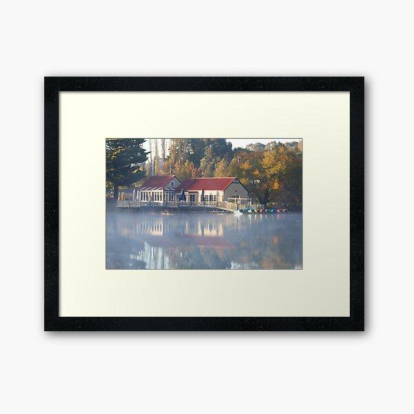 Victorian Beauty - Lake Daylesford Framed Art Print
