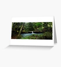 Waterfall- Manning Valley Greeting Card