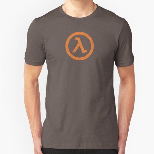 Half Life Lambda Symbol Slim Fit T-Shirt