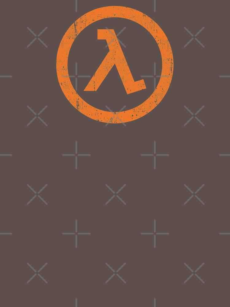 Half Life Lambda Symbol by huckblade