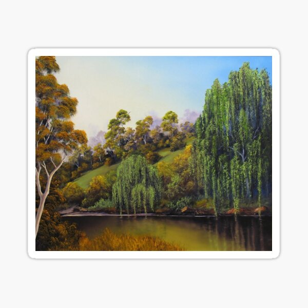 Weeping Willow Creek Sticker