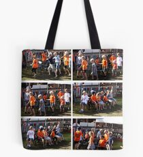Musical chairs @ Bantry Bay, on the 1st of May!!  Tote Bag