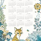 2020Annual calendar - Gathering by isfeather