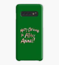 Merry Christmas ya Filthy Animal! Case/Skin for Samsung Galaxy