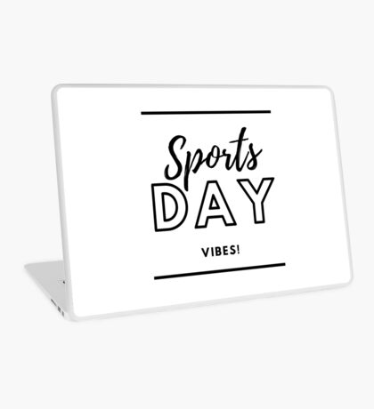 Sports Day Vibes! Laptop Skin