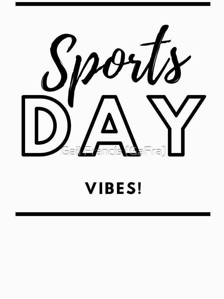 Sports Day Vibes! by TriniArtStudio