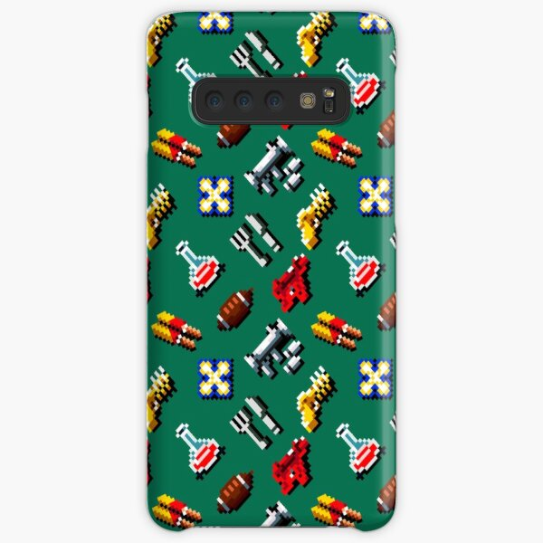 Zombies ate my neighbors | weapons pattern GGL8R-ZAMN Samsung Galaxy Snap Case
