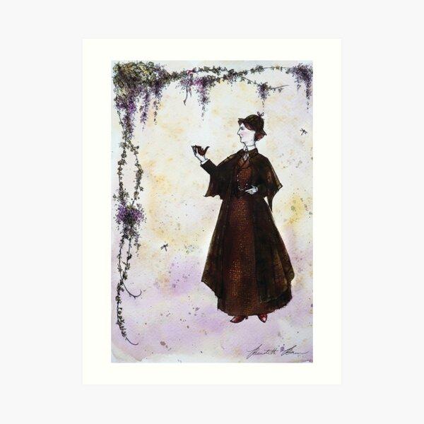 LADY SHERLOCK Project Rendering Art Print
