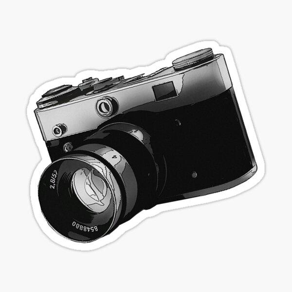 Film Camera Sticker