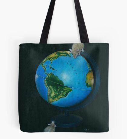 Around the World in Eighty Seconds Tote Bag