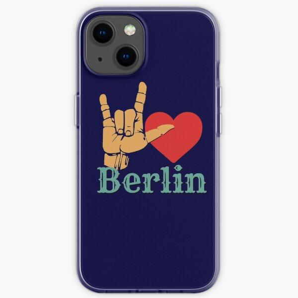 Ich liebe Berlin, Liebeszeichen-Geschenk iPhone Flexible Hülle