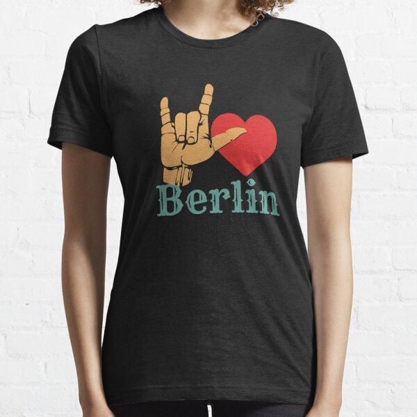 Ich liebe Berlin, Liebeszeichen-Geschenk Essential T-Shirt