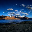 True Blue Pangong by CoSurvivor