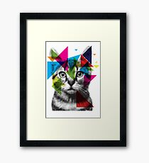 Translucent Furry Friend Framed Print