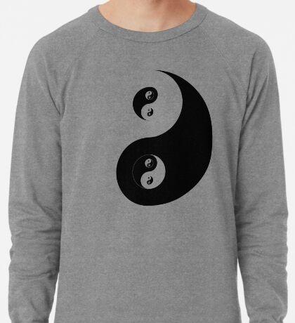 Ying Yang Black  Lightweight Sweatshirt