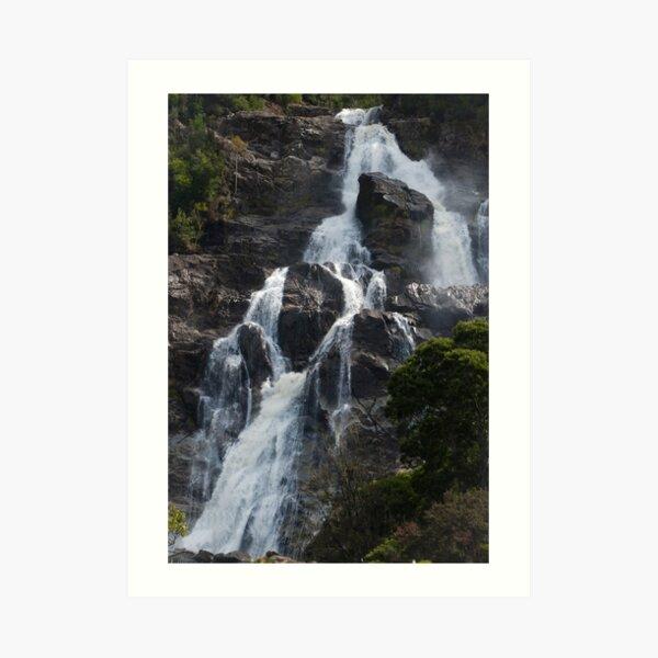 Water fall (Tasmania2) Art Print
