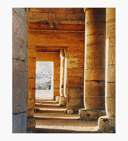 Egyptian Temple Photographic Print