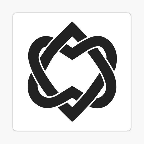 Unified Heart - L. Cohen Sticker