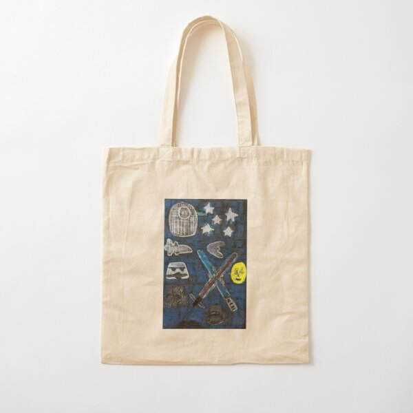 The Space Adventure Cotton Tote Bag