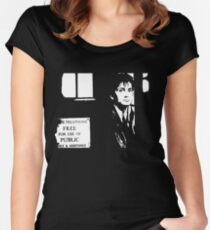 The 10th Doctor Women's Fitted Scoop T-Shirt