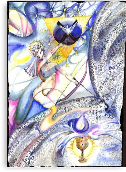 The High Priestess by Davol White