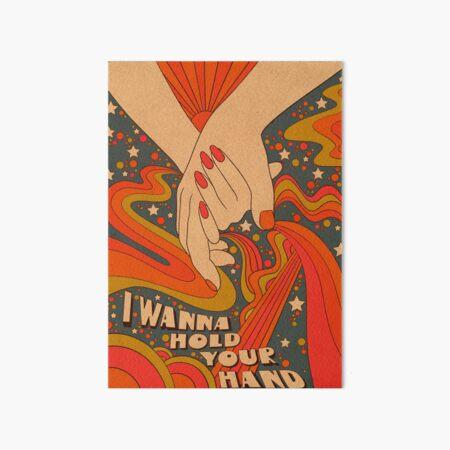 Ich möchte deine Hand halten Galeriedruck