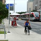 Metro Rail Terminus - Downtown - Austin Texas Series - 2011 by Jack McCabe