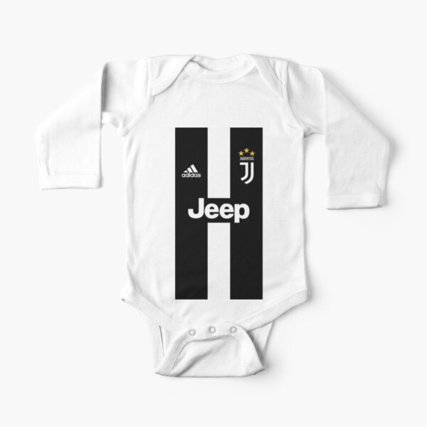 JUVENTUS FC Long Sleeve Baby One-Piece