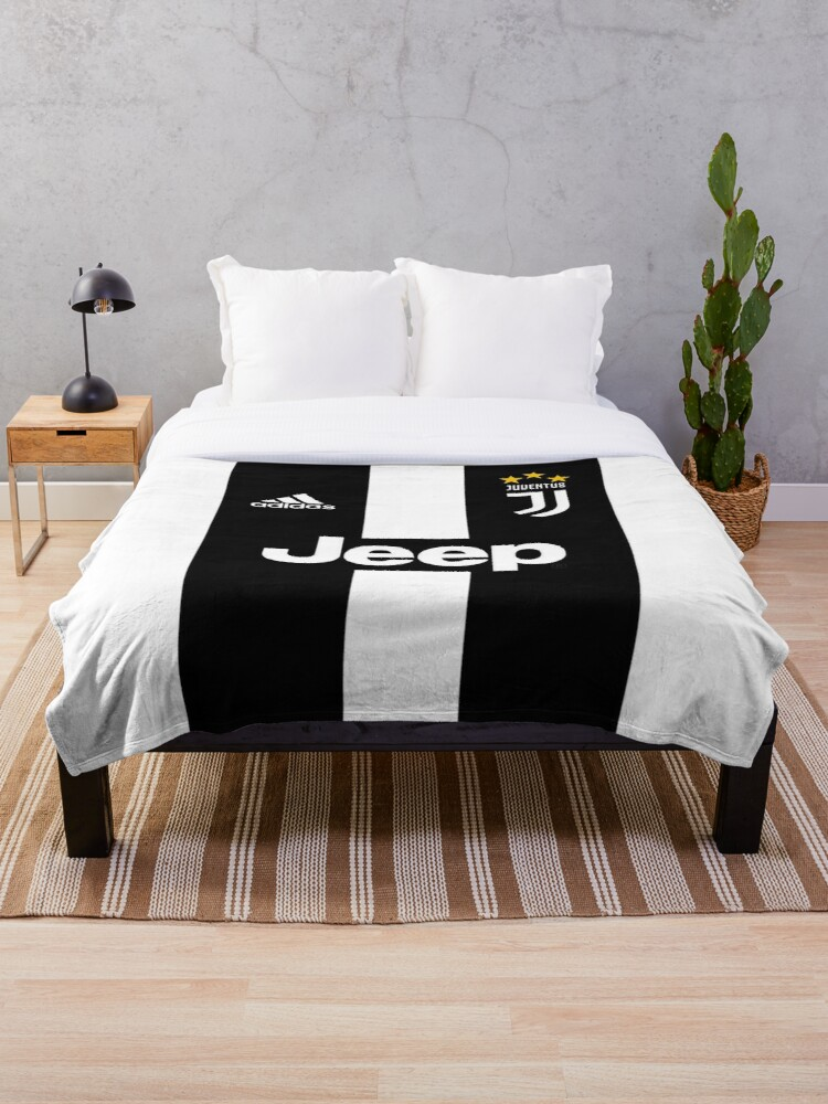 Juventus Fc Throw Blanket By Nurulfalahhuse Redbubble