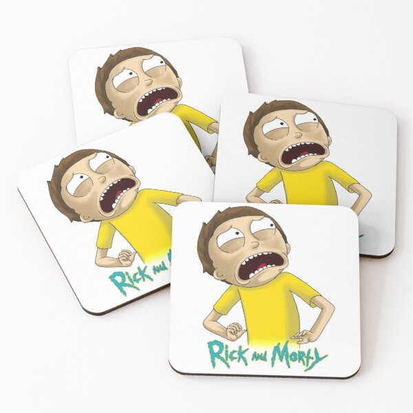 Rick and Morty™ - Morty looks disgusted Coasters (Set of 4)