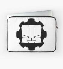 Heroic Gearo Emblem - Black Laptop Sleeve