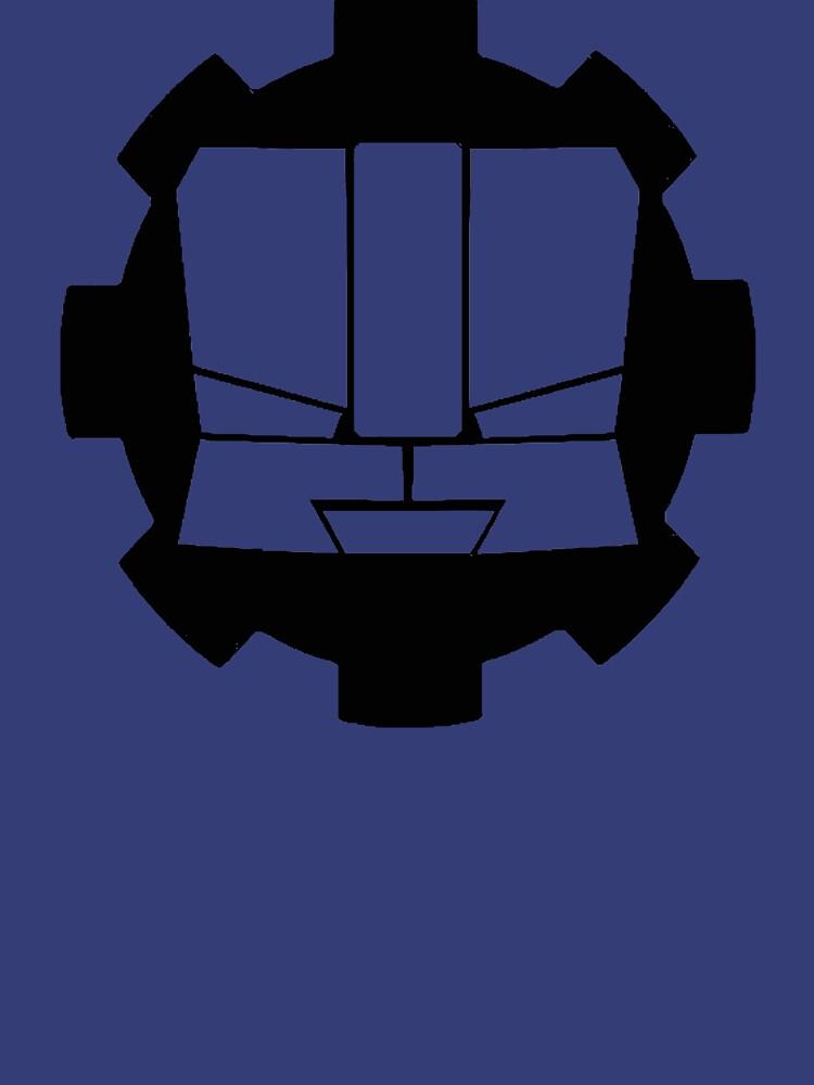 Heroic Gearo Emblem - Black by spymonkey