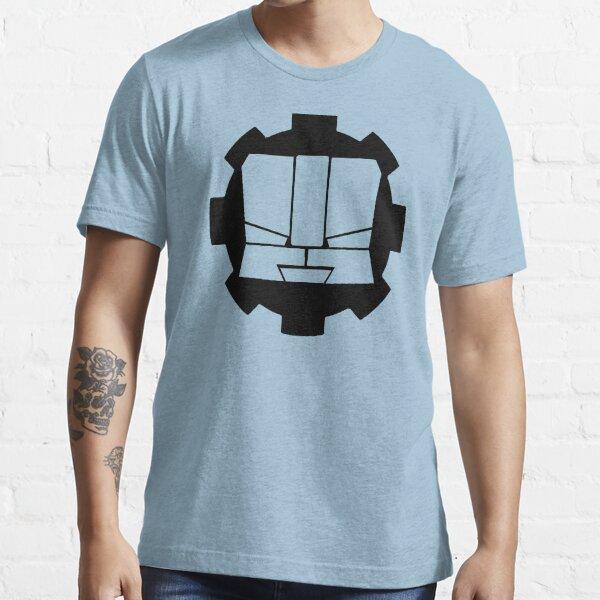 Heroic Gearo Emblem - Black Essential T-Shirt