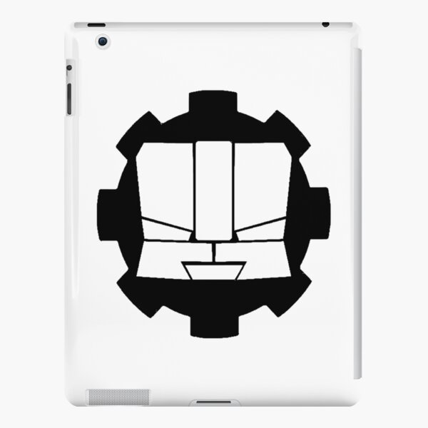 Heroic Gearo Emblem - Black iPad Snap Case