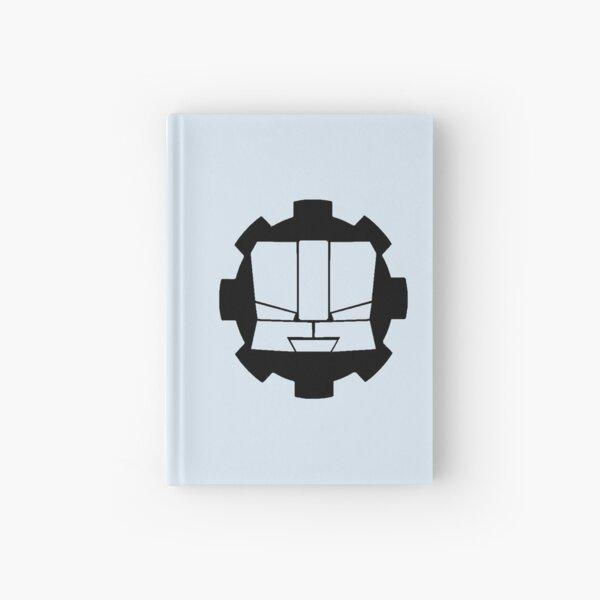 Heroic Gearo Emblem - Black Hardcover Journal