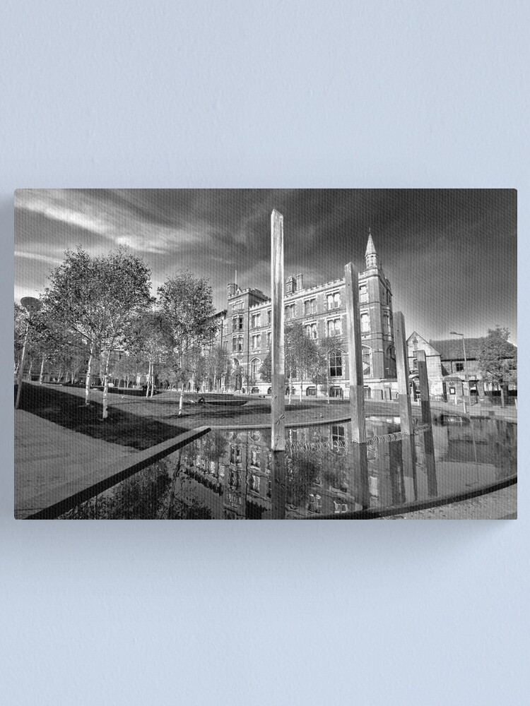 Alternate view of Chetham's school of music Canvas Print