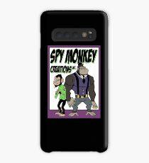 Spy Monkey Creations Inc Logo! Case/Skin for Samsung Galaxy
