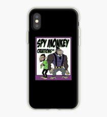 Spy Monkey Creations Inc Logo! iPhone Case