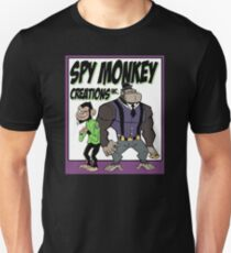 Spy Monkey Creations Inc Logo! Slim Fit T-Shirt