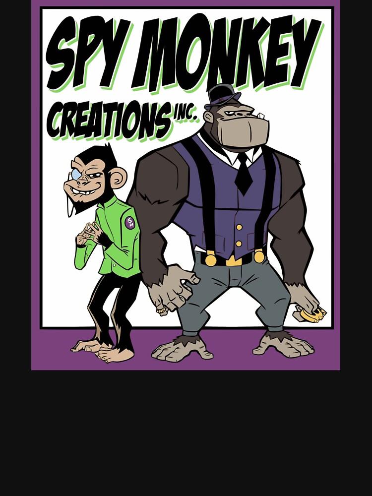 Spy Monkey Creations Inc Logo! by spymonkey